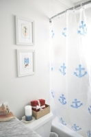 Làm mới phòng tắm với những chiếc rèm che độc đáo