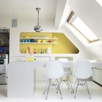 Phá cách với nhà bếp đầy màu sắc