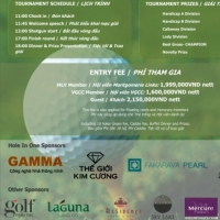 GAMMA tham gia tài trợ giải Golf Montgomerie Links