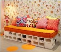 Các ý tưởng trang trí nhà với gạch đúc