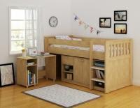 """Những mẫu giường """"2 trong 1"""" tiện lợi cho bé yêu"""