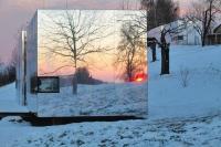 Căn nhà độc đáo với bức tường gương