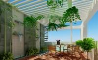 Biến sân thượng thành khu vườn xanh ngắt
