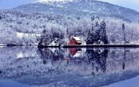 Những ngôi nhà đẹp như cổ tích trong băng tuyết