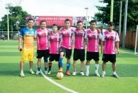 Đội bóng GAMMA tranh tài tại Theben Cup năm 2016