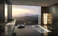 Mẫu phòng tắm tận hưởng trọn cảnh đẹp bên ngoài